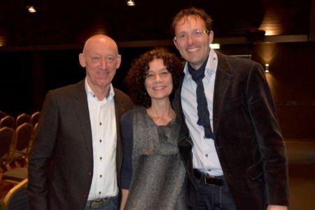 Symposium over gezondheid met Ger Lodewick, Door Frankema en Ard Pisa