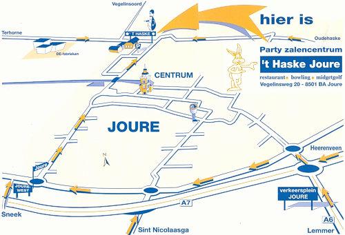 routekaart Haske