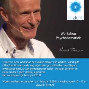 PR Workshop Henk Fransen 1 febr